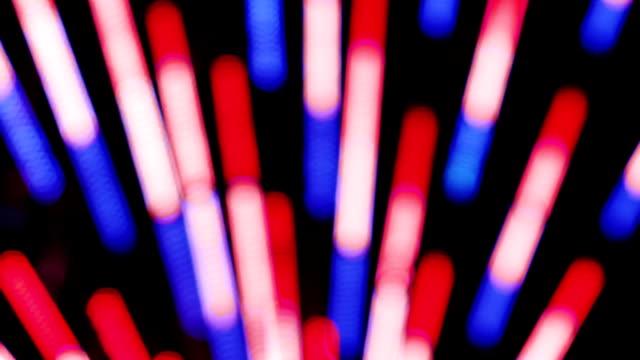 Tricolor ferris wheel lights video
