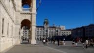Triest Piazza Grande video