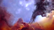 Trifid Nebula in 3D video