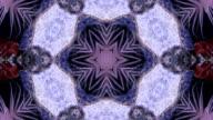 trippy anemone kaleidoscope video