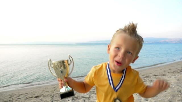 Triumph of small winner video