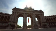 Triumphal Arch in Brussels video