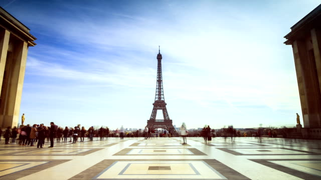 Trocadero timelapse video