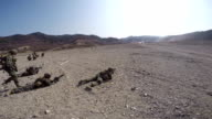 Troops Fighting In Desert video