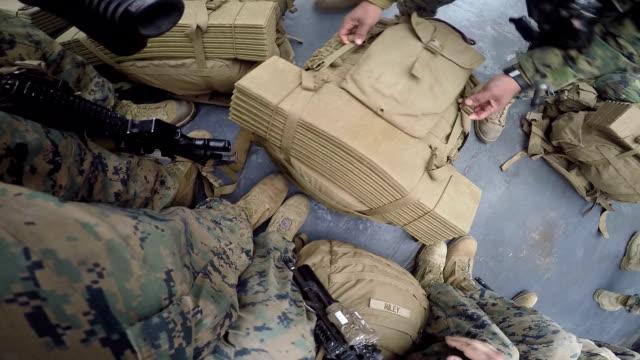 Troops Loading video