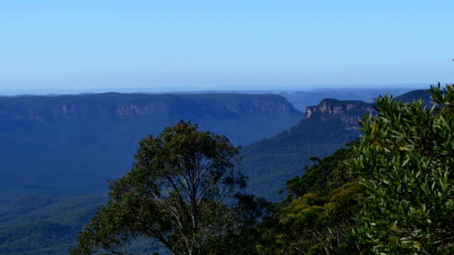 Tropical Australian Landscape: Blue mountains video