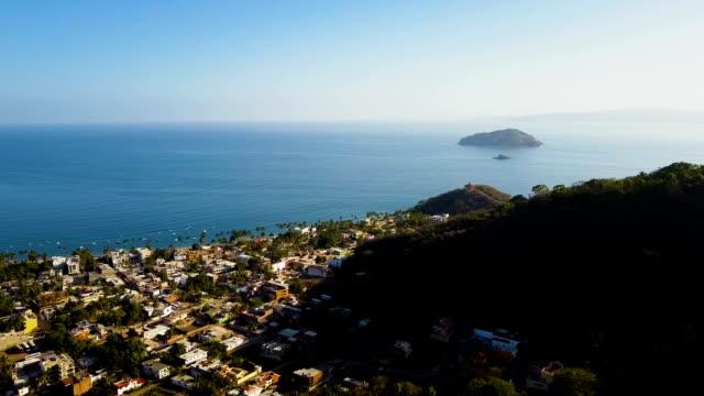 Tropical Coastal Town video