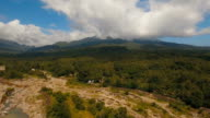 Tropical forest in the mountains. Camiguin island Philippines video