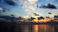 tropical island sunrise video