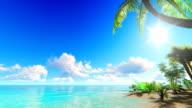 Tropical island video