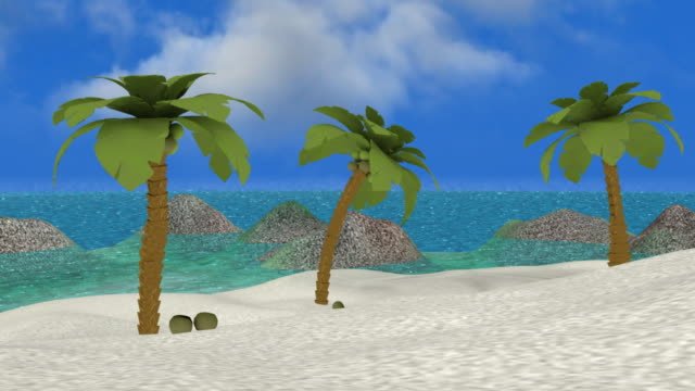 Tropical Paradise Beach (Loop HD) video