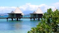 Tropical Paradise Luxury Over Water Bungalow Resort video