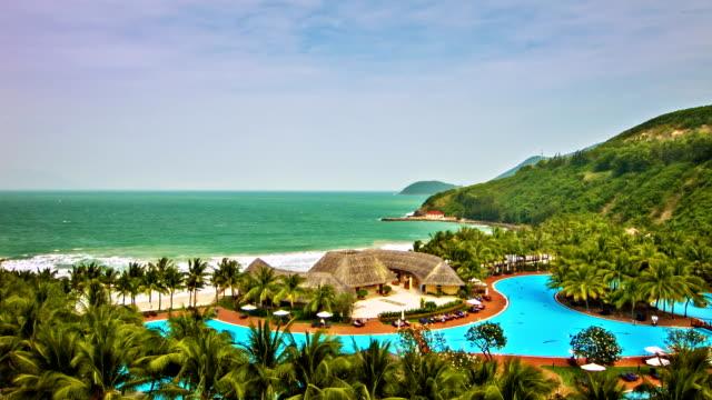 Tropical paradise video