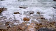 Tropical Sunset sand beach video