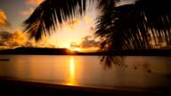Tropical Sunset Timelapse: Tonga video