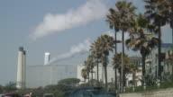 (HD1080i) Tropical Urban Pollution Smokestacks video