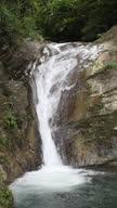 HD tropical waterfall vertical video