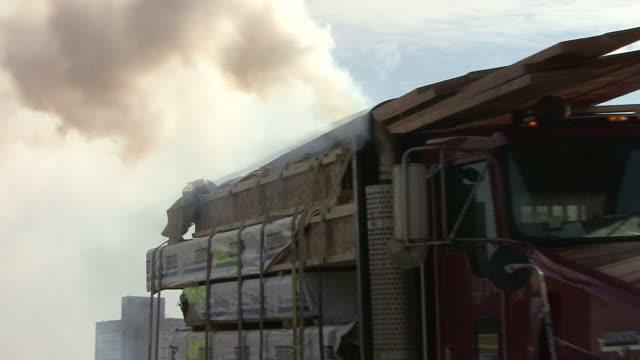Truck air pollution video