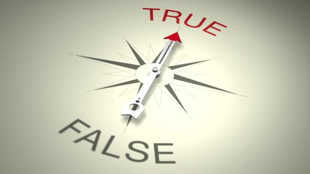 True Versus False video