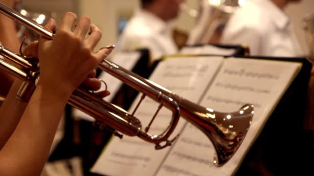 Trumpet performing video
