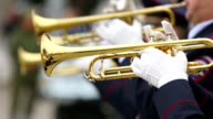 trumpeters military brass band video