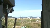 Tsunami hit building video