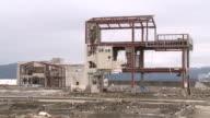 Tsunami zone disaster Japan video