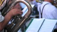 Tuba Player Close-up video