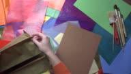 Tumbled papercraft workshop video