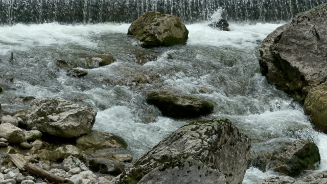Tumultuous River with Rocks video