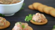 tuna cracker video