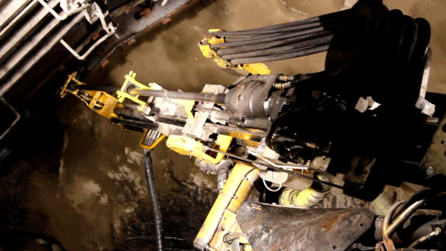 Tunnel Boring Machine. video