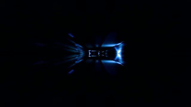 Tunnel. Eye. Blue. video