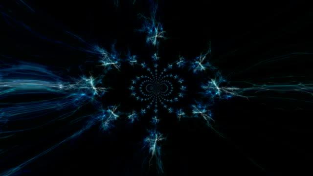 Tunnel Lights kaleidoscope video