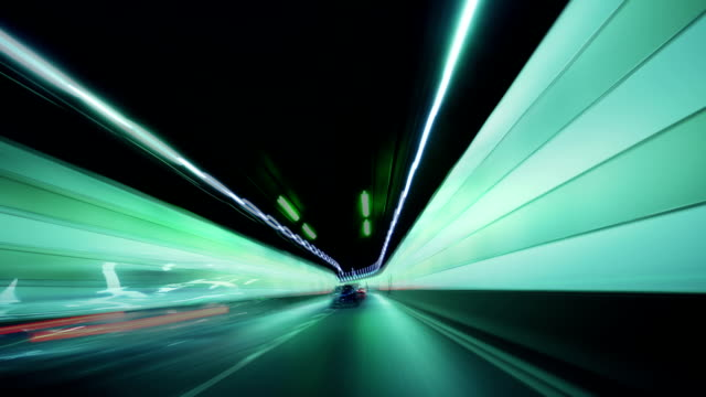 HD: Tunnel to the unknown..., time lapse video video