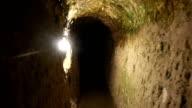 tunnels of Derinkuyu Underground City in Cappadocia video