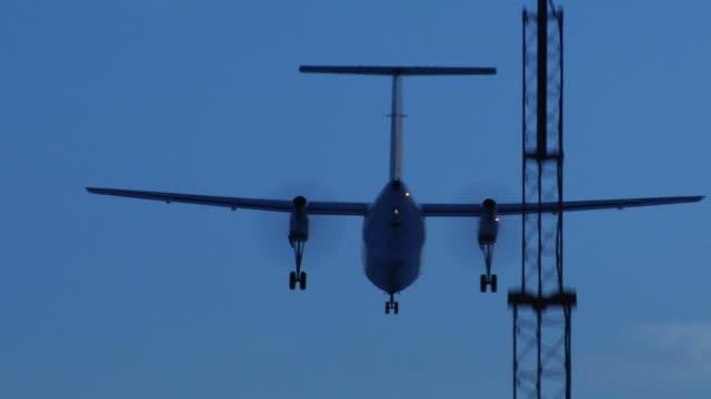 turboprop landing (HD video) video