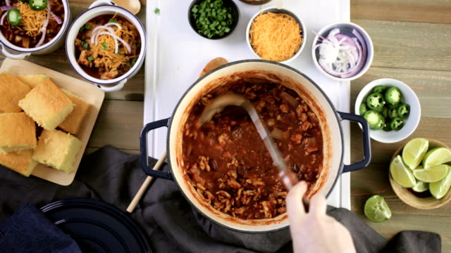 Turkey chili video