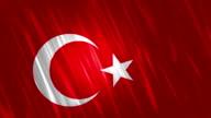 Turkey Flag Loopable Animation video