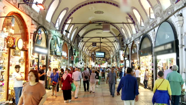 turkey istanbul grand bazaar video