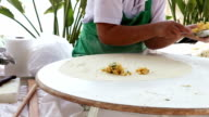 Turkish pastry gozleme video