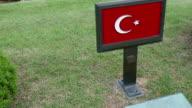 BUSAN/SOUTH KOREA-MAY 5: Turkish soldiers graves in UN Memorial Cemetery in Korea, Korean war(1950~1953) video