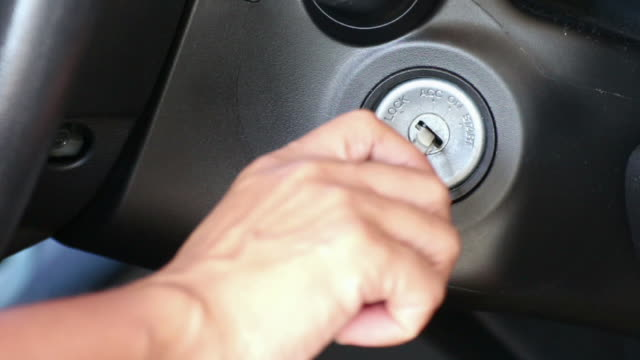 Turn on,car start HD video