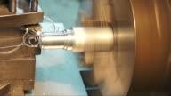 Turning lathe. video