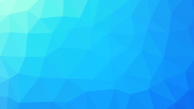Turquoise gradient polygon shaped background zoom video