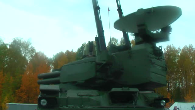 Turret working of Tunguska M1 video