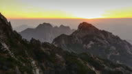 turtle peak view point, Huangshan (Yellow Mountains), Eastern China. video