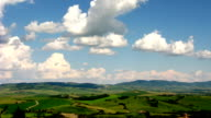 Tuscan country timelapse video