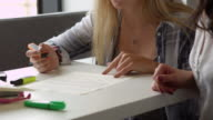 Tutor And Dyslexic Student Using Learning Aids Shot On R3D video