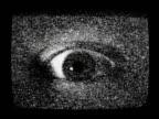 Tv static eye video